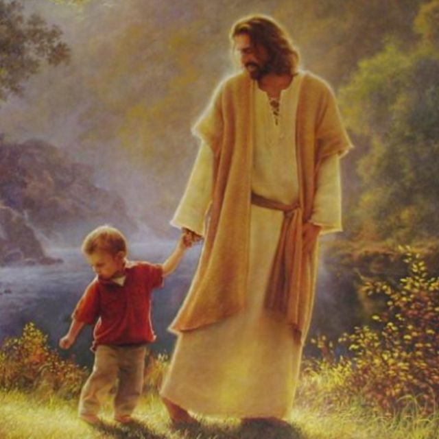 "LDS art by Greg Olsen..this one is for you, Tripp. Ask all of the ""why"" questions that you want!!!"