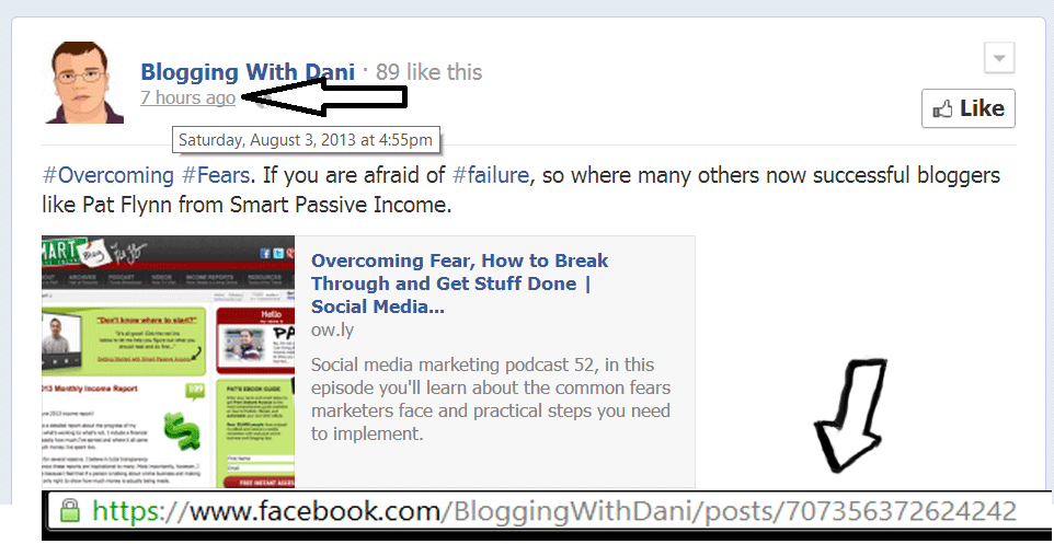 how to embed FB post on website