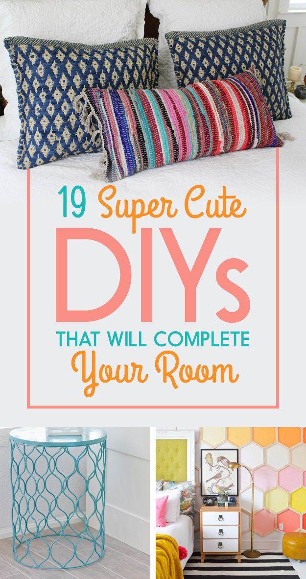 19 super cute dollar store diys that will complete your bedroom rh pinterest com