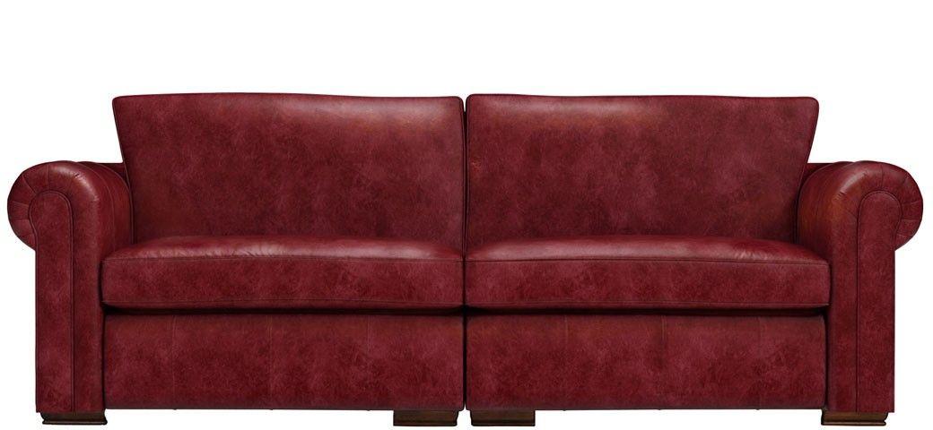 Aspen 4 Seater Leather Sofa Sofas Leather Sofa Sofa