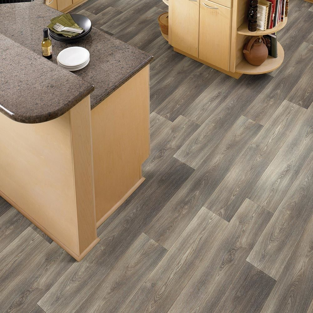 """Grey Cork Flooring Kitchen: Forest Hill Series: """"Rustic Grain"""" Color. Empire Today"""