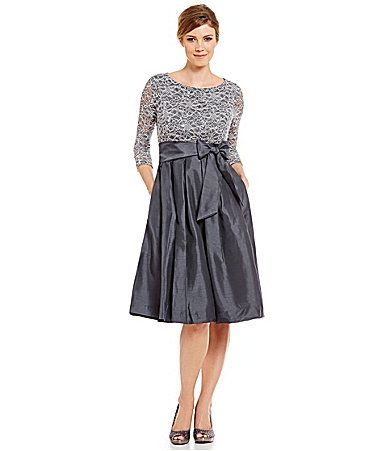 Jessica Howard 34 Sleeve TieWaist Party Dress #Dillards | Stitch Fix ...