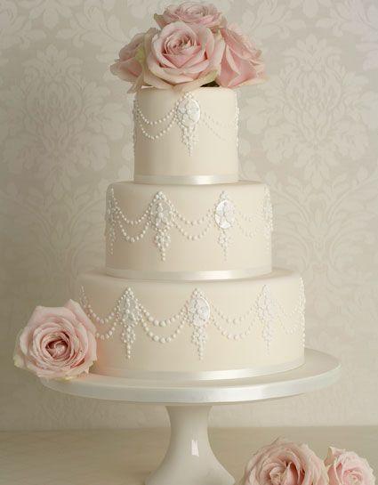"""Peggy Porschen cake - """"Baroque Pearl"""""""