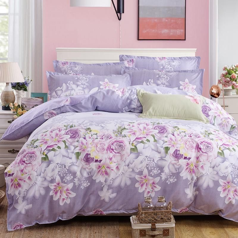 bedding 4pcs bohemian bedding set polyester cotton soft bed linen duvet cover pillowcases bed sheet sets