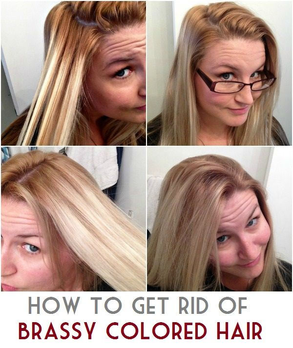 How To Get Rid Of Brassy Colored Hair Hair Color Hair Pulling
