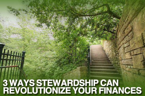 stewardship and finances