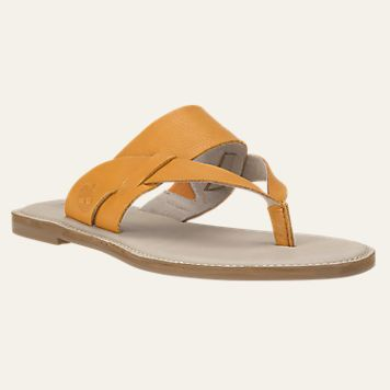 b530ee41326be8 Women s Sheafe Leather Thong Sandals TIMBERLANDS