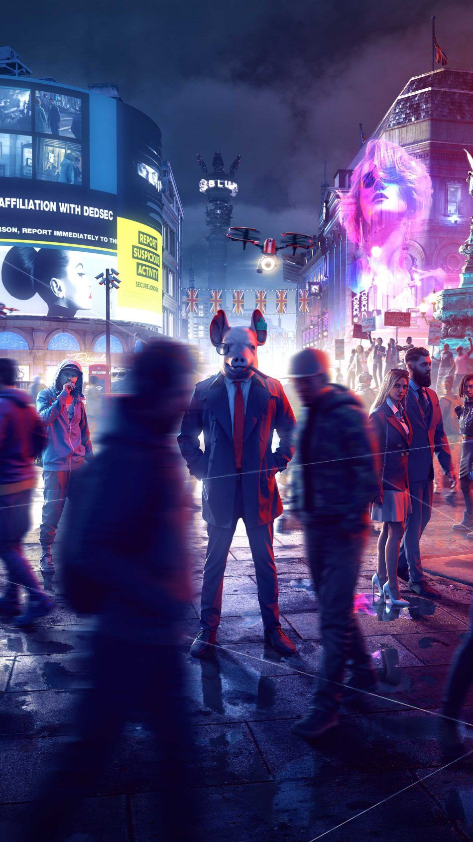 Watch Dogs Legion 2019 4k Ultra Hd Mobile Wallpaper Watch Dogs Watch Dogs Art Watch Dogs Game