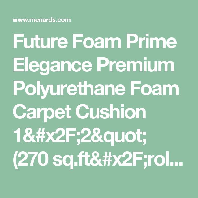 Prime Polyurethane Carpet Cushion Carpet Vidalondon