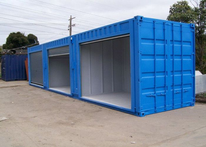 Steel Modified Shipping Containers Rust Proof Temporary Storage Containers Container House Plans Container House Container House Design