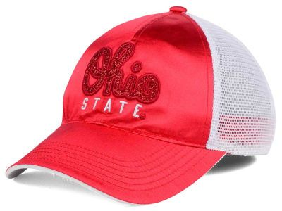 5c85134d0 J America NCAA Satin Glitter Cap Hats   2017 Buckeye Official ...