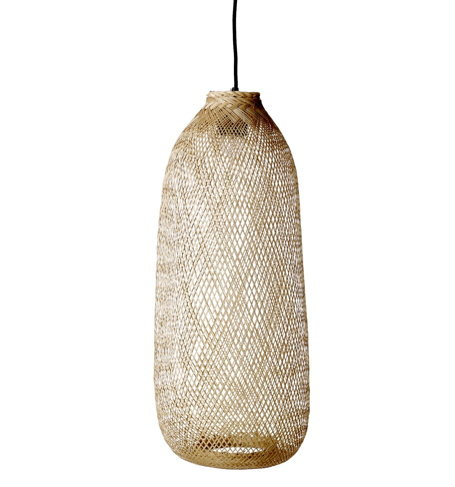 handmade lamp from Bloomingville. originally used in Thailand as fish trap.  www.bloomingville