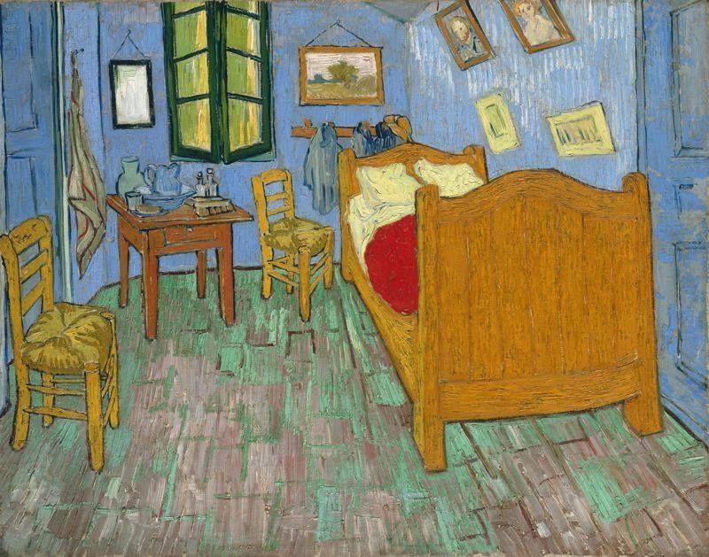 La Camera di Vincent ad Arles, 1889 (Chicago, Art Institute