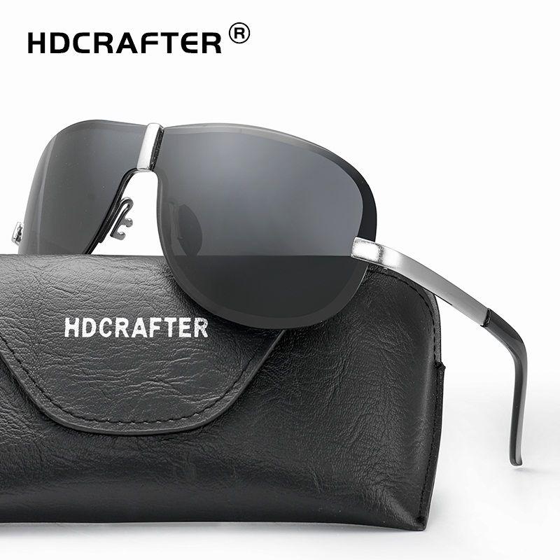 27c83434f HDCRAFTER Brand Designer Sunglasses Men 2018 Polarized Driving Sun Glasses  for Male Accessories Cool oculos de sol masculino