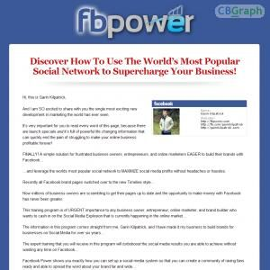 Facebook Power Is A Powerful 5 Module Facebook Marketing Training Program With An Awesome Bonus Package, Iphone / Ipad App, And More. Check Out Our Affiliates Page For Email Swipes And Awesome Resources To Help You Make More Money! Fbpower.com/affiliates See more! : http://get-now.natantoday.com/lp.php?target=fbpower
