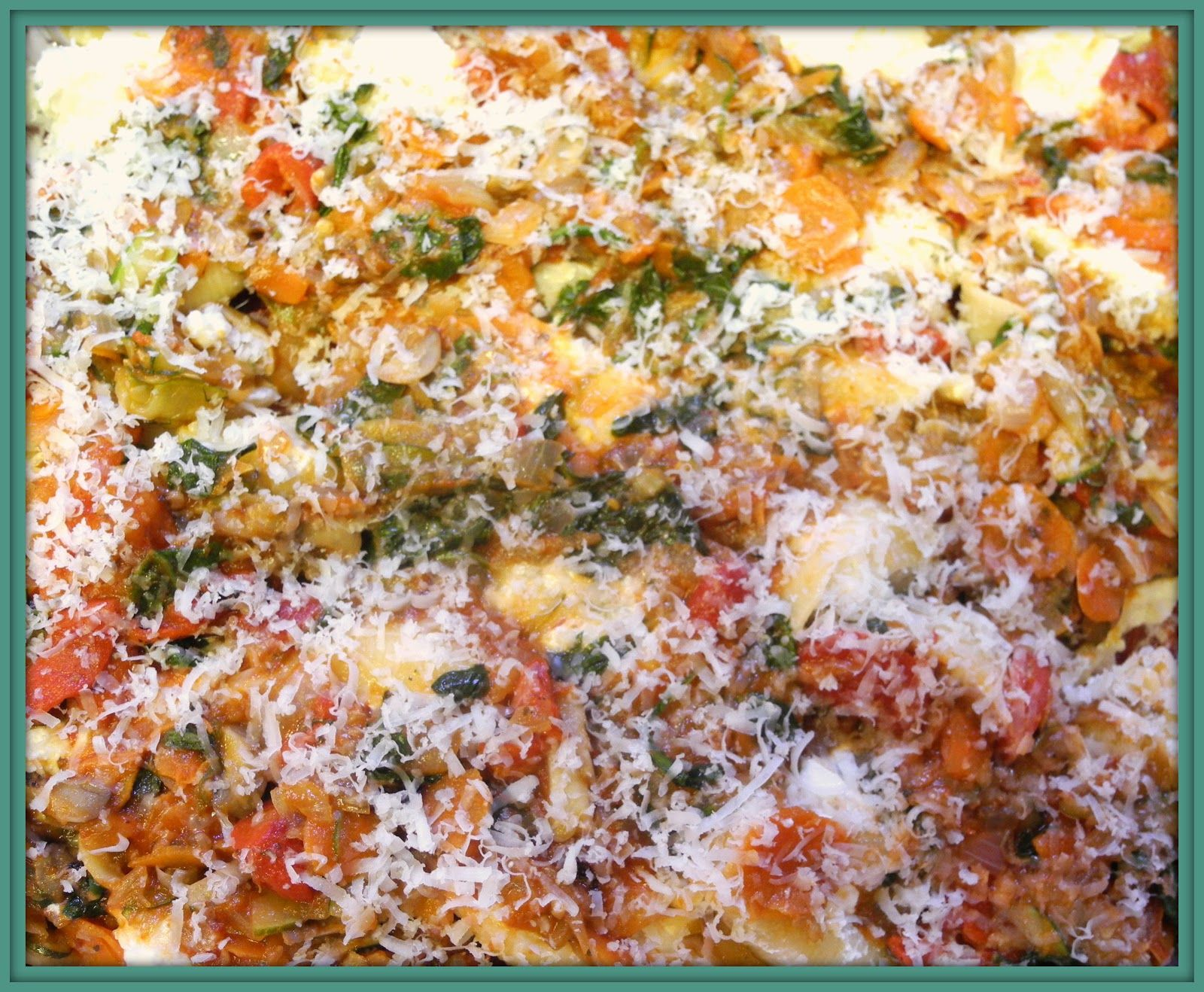 BIZZY BAKES: Stuffed Shells With Vegetable Bolognese Sauce
