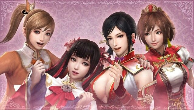 Dynasty Warriors Women Wu Xiaoqiao Daqiao Lianshi Sun Shangxiang Dynasty Warriors Dynasty Warriors Characters Samurai Warrior
