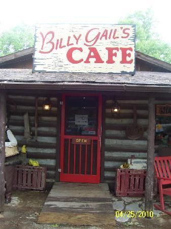 Billy Gail's Cafe in Branson, Missouri.  Pecan French Cakes are my favorite