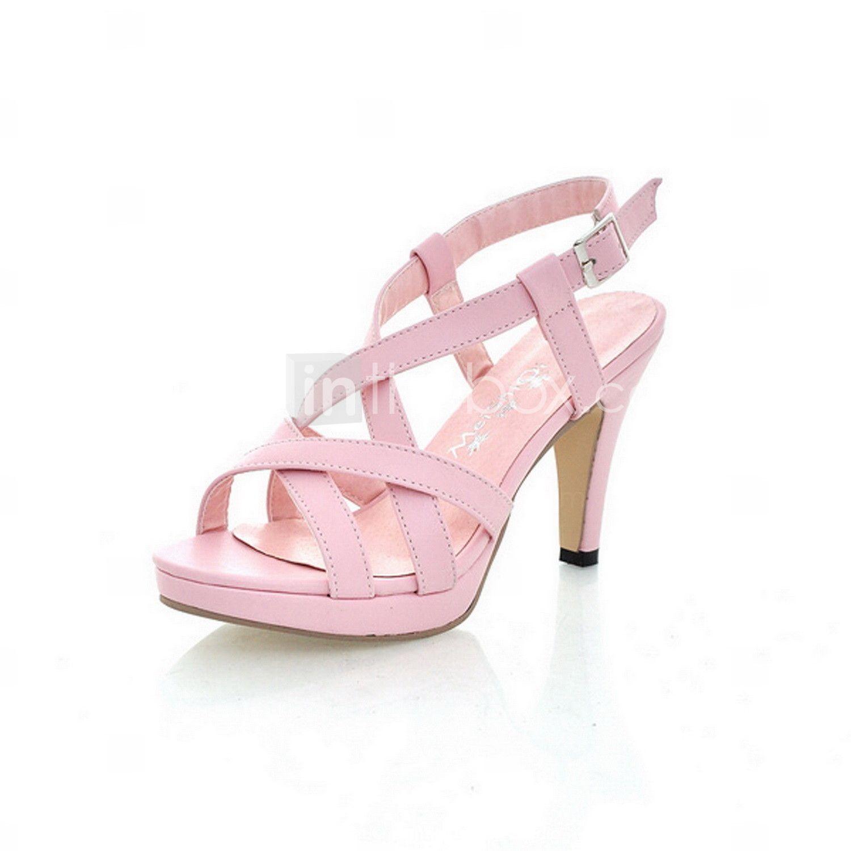 Zapatos de mujer - Tacón Stiletto - Talón Descubierto / Tacones ...