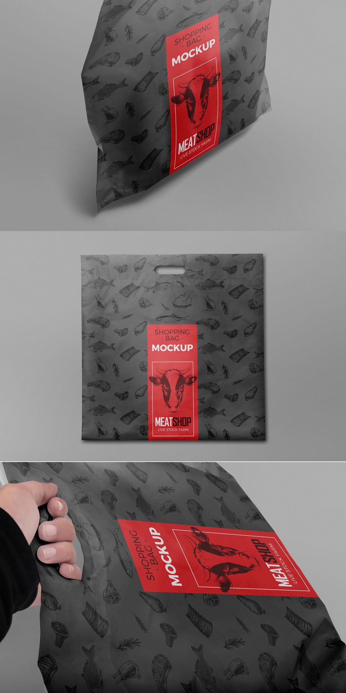 Download Plastic Bag Mockups Bag Mockup Plastic Bag Design Packaging Design