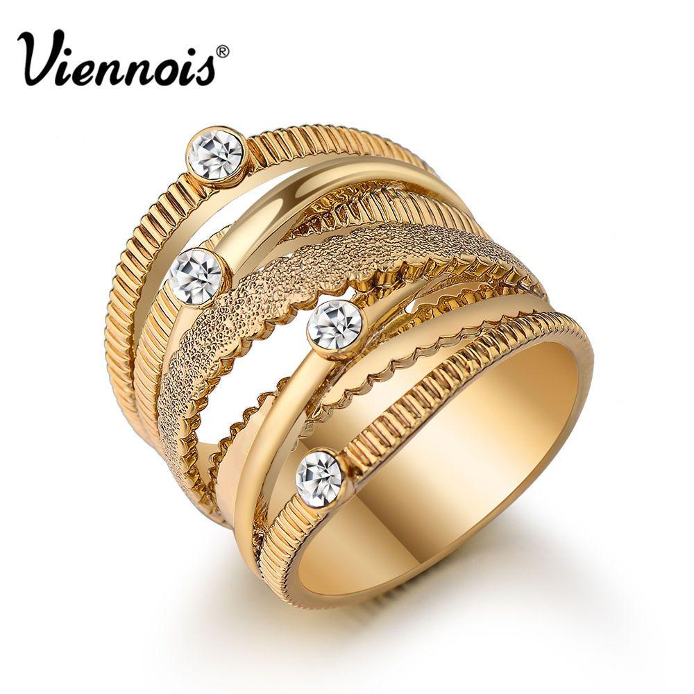 Gold Ring With Diamonds Size eBay Jewelry Pinterest