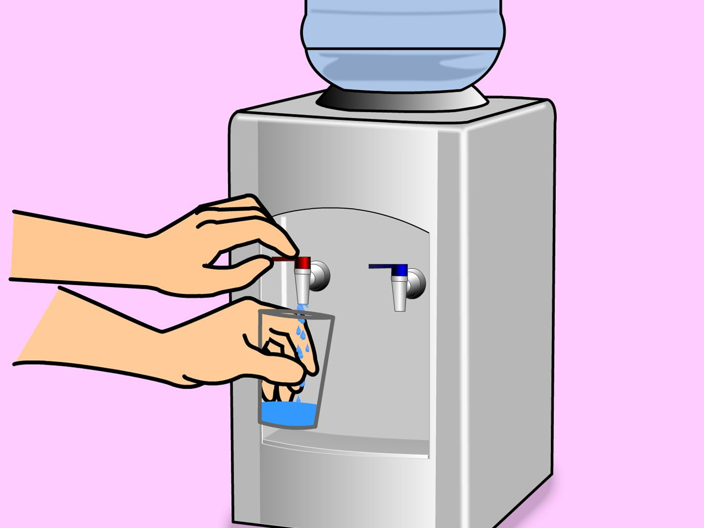 How To Clean A Water Dispenser 10 Steps With Pictures Water Dispenser Clean Water Dispenser Cleaning