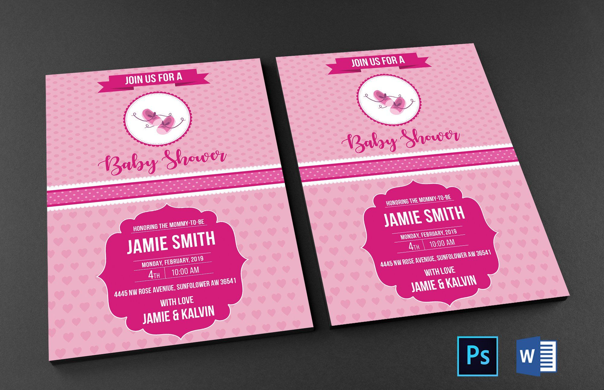 Pin By Designscozy On Baby Shower Template Baby Shower Invites For Girl Baby Shower Templates Baby Shower Invitations For Boys