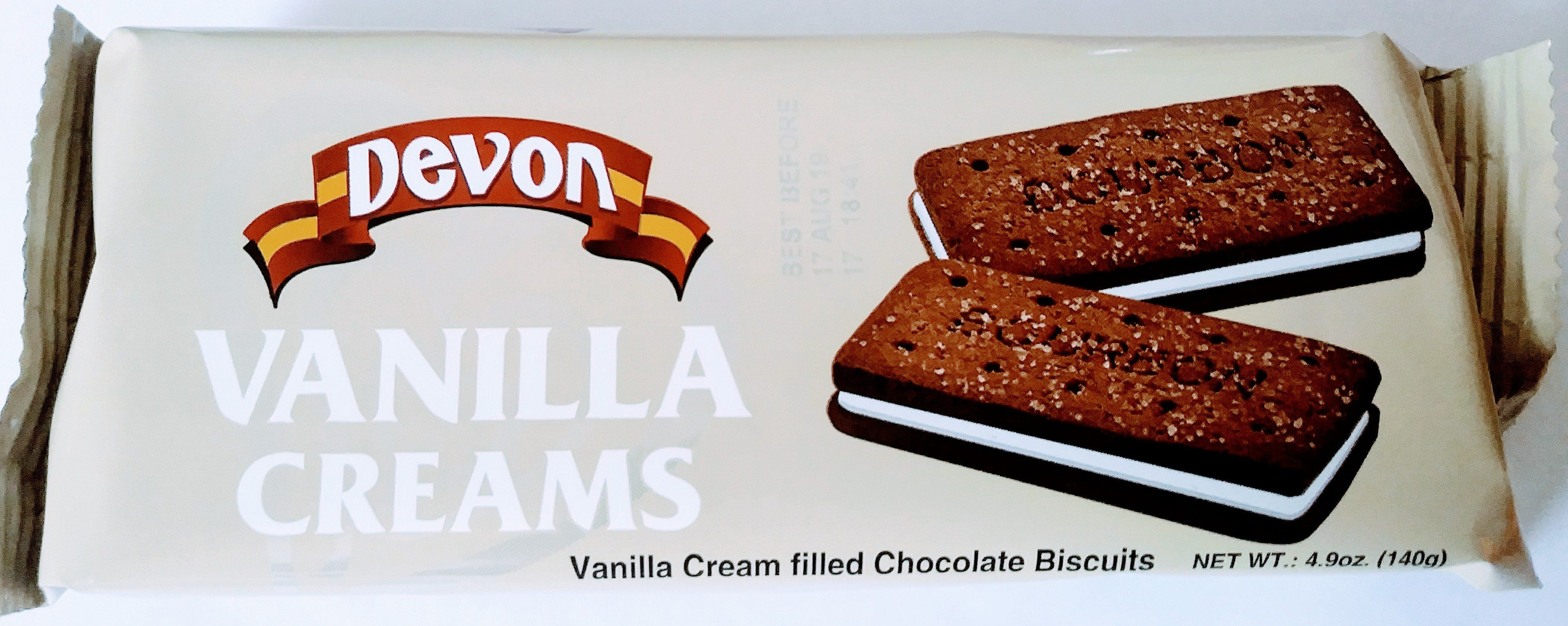 Photo of Devon Vanilla Creams