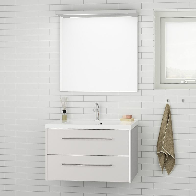 Badezimmer Waschplatz Set LUGIE256 Weiß Matt Jetzt Bestellen Unter:  Https://moebel.