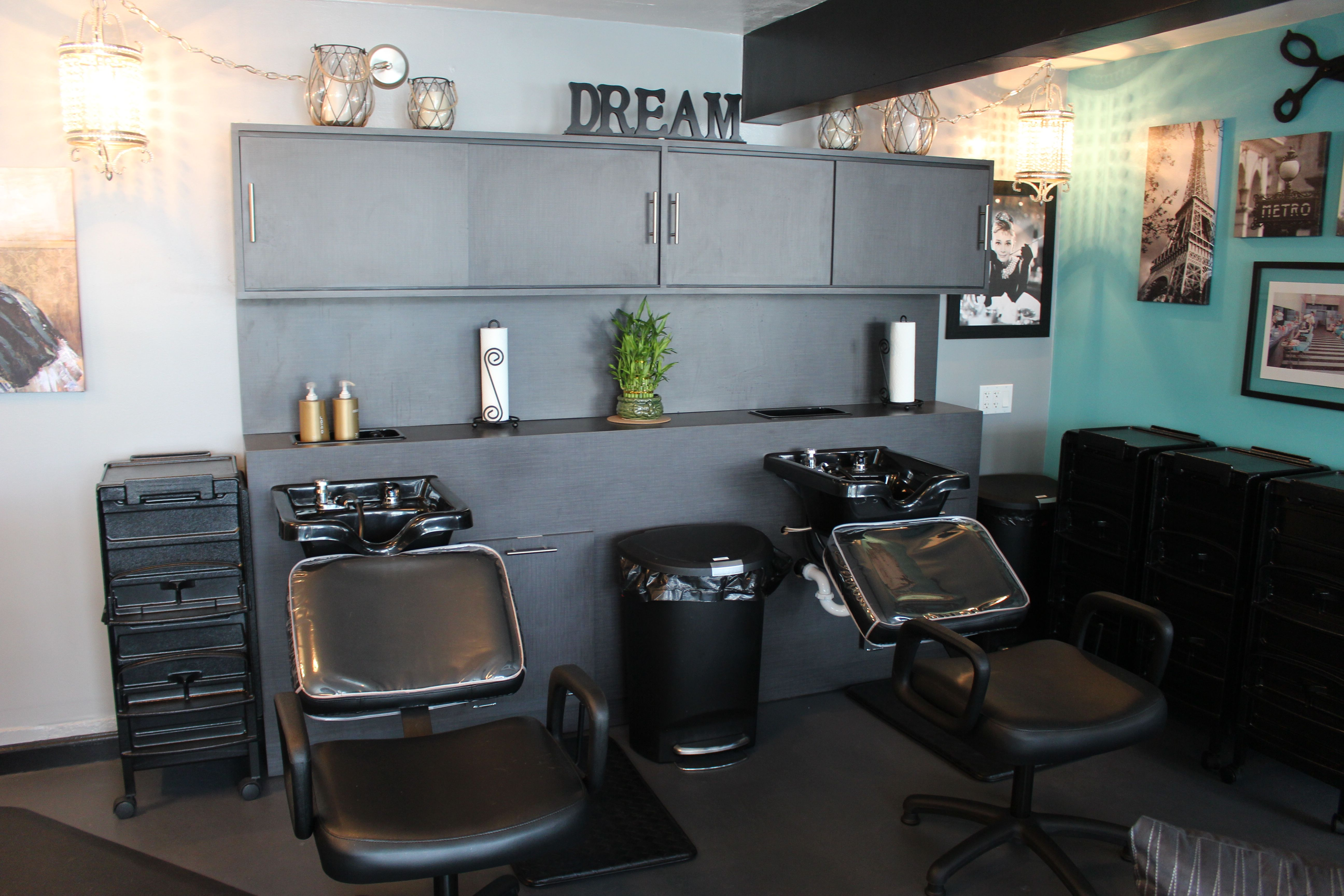 Washing Station at Sublime Designs for Hair & Home in Yucaipa
