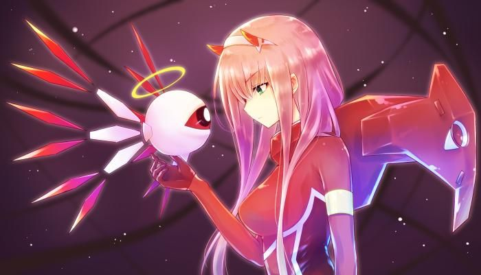 Crossover Kirby 64 & Zero Two HD wallpaper download in