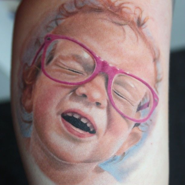 Awesome Colour Portrait by Sam Ford
