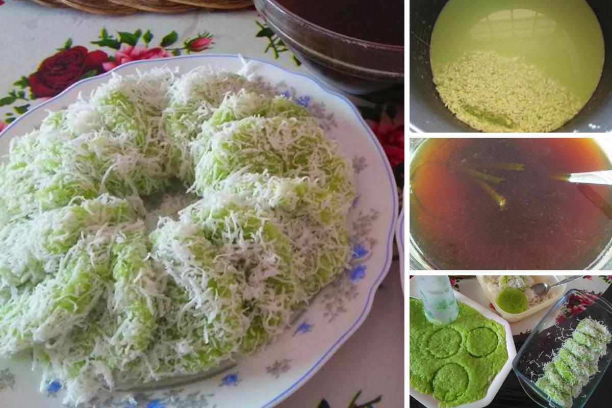 resipi kuih lopes   mudah dimasak  perlu kukus  guna periuk nasi je jadi Resepi Kek Kukus Guna Periuk Noxxa Enak dan Mudah