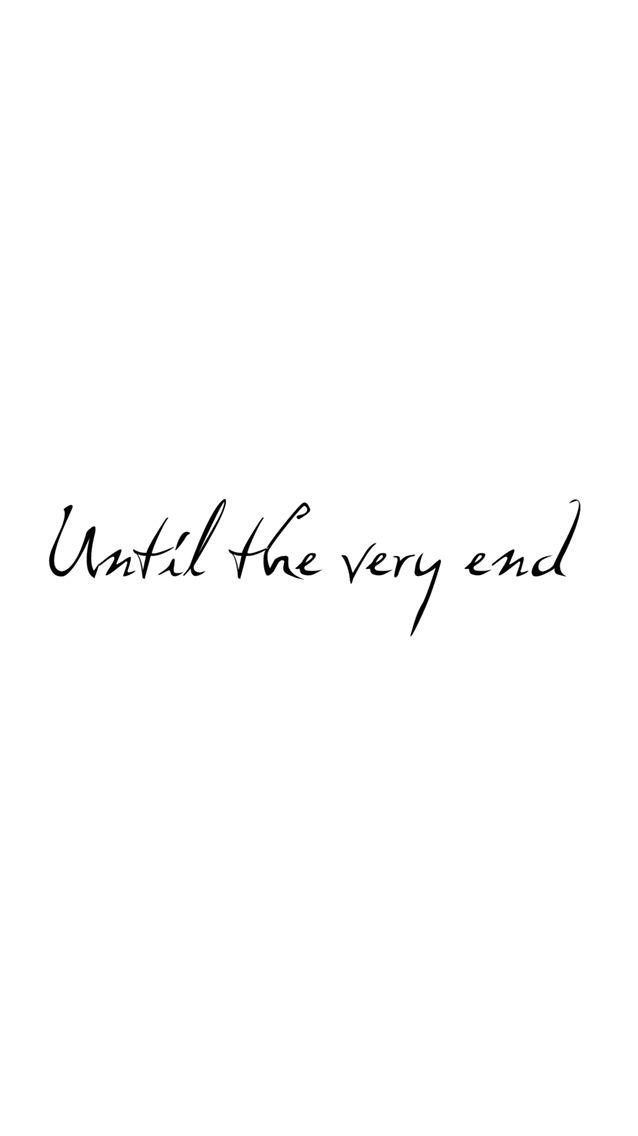 Until The Very End Collar Bone Tattoo Bone Tattoos Harry Potter Tattoos