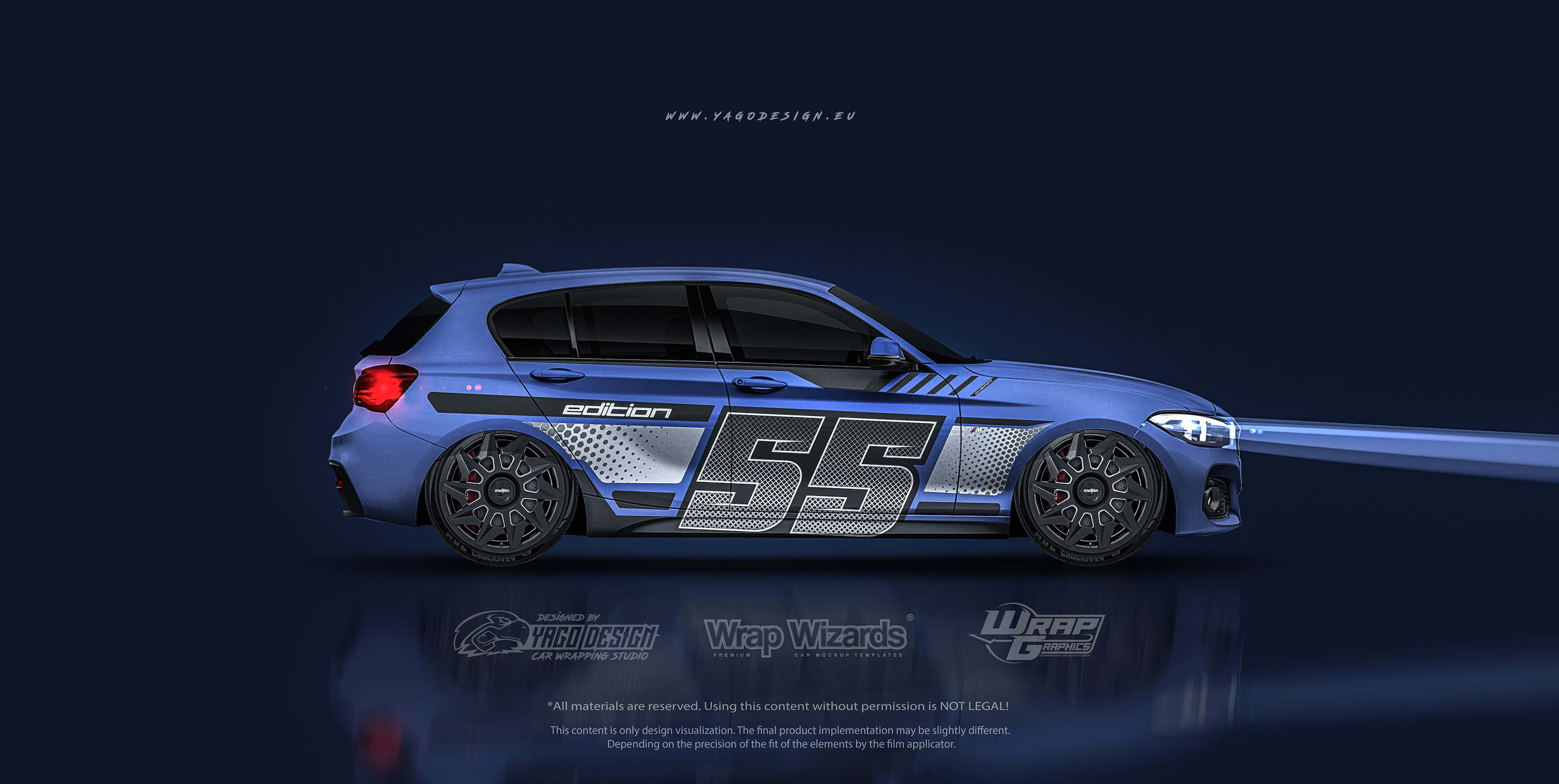 S Bmw F20 1 Series Numbered S Yago Design