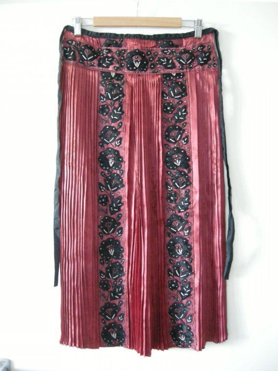 Vintage Hungarian unique folk art apron by katavintage on Etsy, $100.00