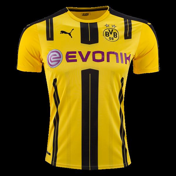 PUMA Borussia Dortmund Home Jersey 16 17 Soccer Cleats 12a0931c5