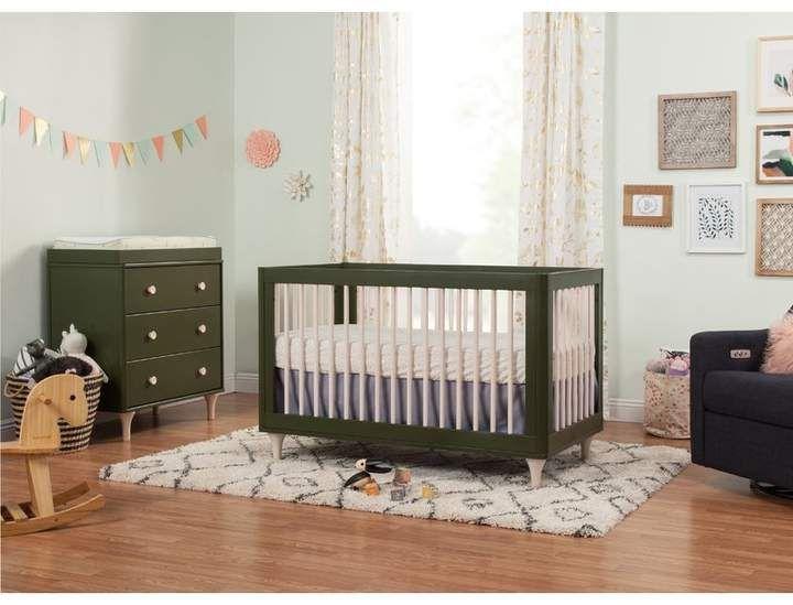 Lolly 3 In 1 Convertible 2 Piece Standard Crib Nursery Furniture