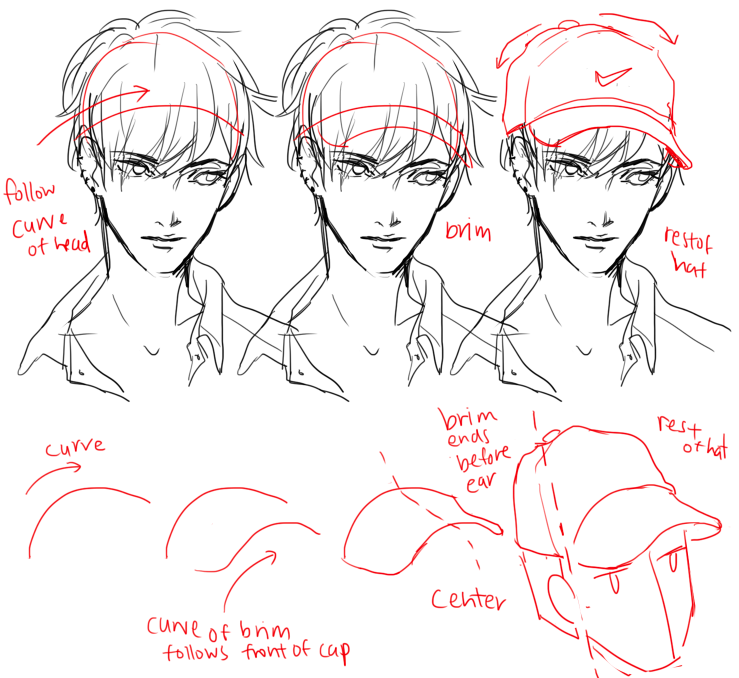 Almost As Cool As You Hat Drawing Hat Drawing Reference Drawing Reference