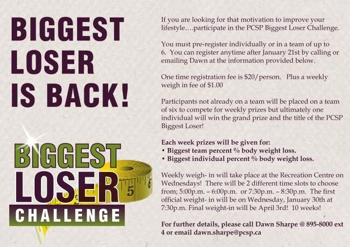 Best weight loss contest rules
