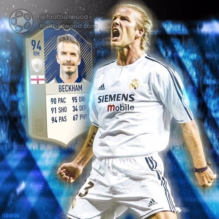 Want to see the Beckham icon card at FIFA? beckham Futebol