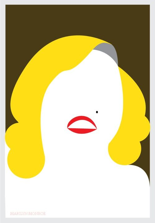 Pop culture icons as minimalist art posters art posters for Minimal art que es