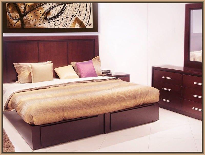 Modelos de camas matrimoniales en madera 800 605 for Bases para recamaras modernas