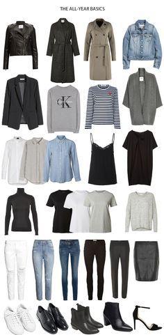 Capsule wardrobe spring 2017 mode fr hling sommer for Minimalistischer kleiderschrank