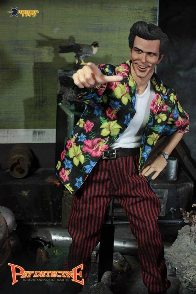 Ace Ventura Jim Carrey Pet Detective Ace Ventura Action Figure