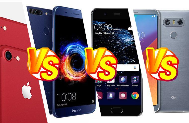 iphone 7 vs huawei p10 plus