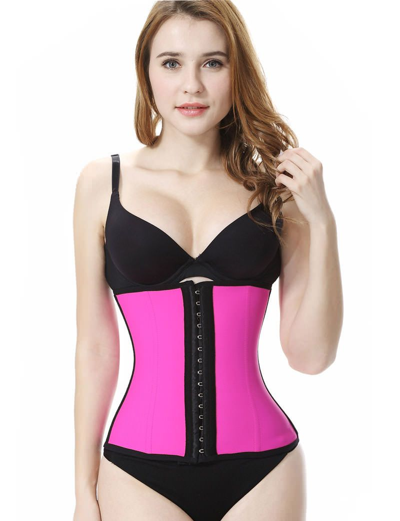 fd2d0b0c392 Everbellus Latex Waist Trainer Corset Hourglass Body Shaper for Women   19.80 4.64 out of 5 based