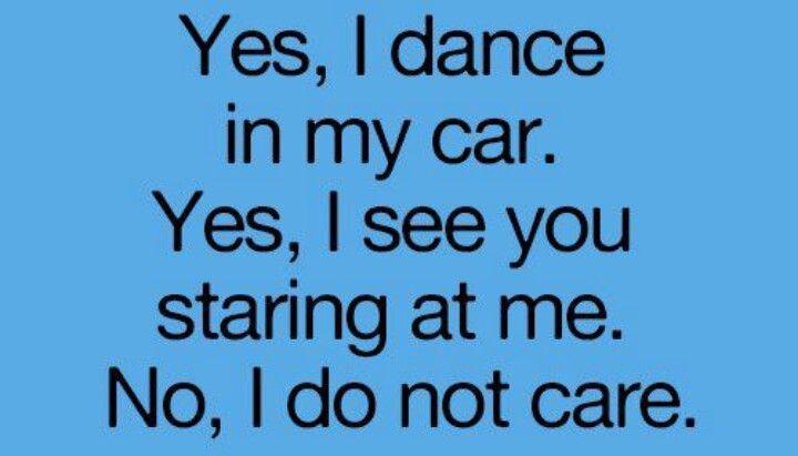 Dance in my car