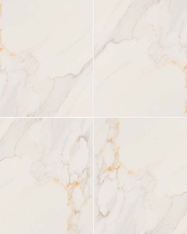 Calacatta Porcelain Ceramic Tiles From Our Adella Collection Are Crafted To Resemble Natural Marble Polished Porcelain Tiles Marble Look Tile Durable Tiles