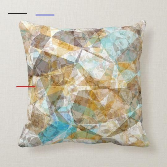 Contemporary Orange Aqua Blue Turquoise Ochre Brown Mosaic Pattern Throw Pillow Beautiful contemporary cool funky modern retro polygon motif design. Ornate, whimsical hipster home interior décor accent for decorating the master bedroom, living or family room, woman or man cave, college dorm, condo, studio or apartment  #Decor #Homedecor #Interiordecor #Homedecorating #Interiordesign #Ideas #Throwpillow #Pillows #Abstract #Abstractdecor #Geometric #Geometricdecor #Bohemian #Boho #Bohodecor #Bohem